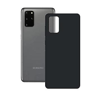 Mobil sag Samsung Galaxy S20 + Kontakt Silk TPU Black