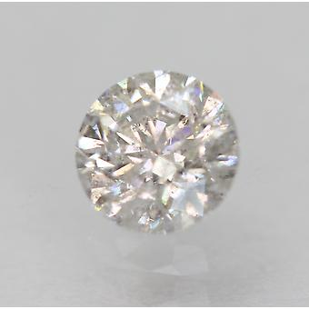 Certified 0.44 Carat H Color SI2 Round Brilliant Natural Loose Diamond 4.81mm