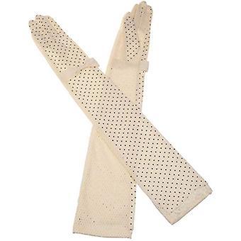Kenmont Fashion UPF 50+ nyári Sun UV védelem női hosszú ujjú kesztyűk, 2972-36