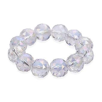 TJC Dehnbares Armband für Damen 7 '' Mehrere Farben Ab Kristall 0.001ct