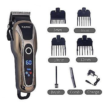 Professionele kapper tondeuse usb elektrische haartrimmer t-outliner snijden baard trimmer scheerapparaat