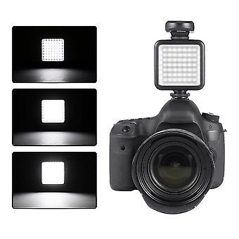 49 أدى مصباح ضوء الفيديو إضاءة الصور الفوتوغرافية للتصوير الفوتوغرافي الكاميرا