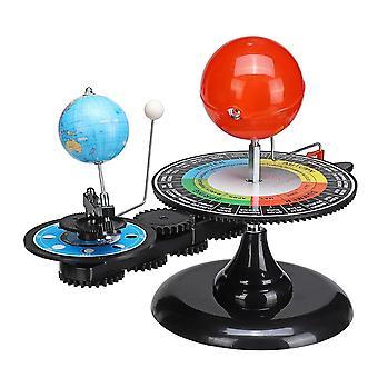 Solsystem Model Diy Globe Earth Sun Moon Orbital Planetarium Uddannelsesmæssige For Child Kid Legetøj Astronomi Science Kit Undervisning