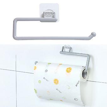 Keittiö Itseliimautuva PaperitelineTeline Pyyhe ripustimen kaappi säilytys