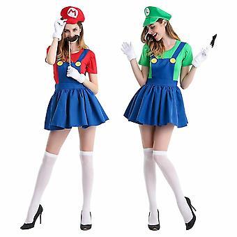 Mario Und Luigi Kostüm für Frauen