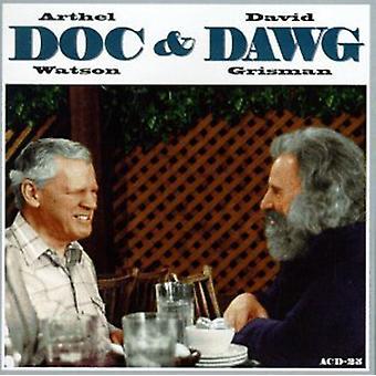 Watson/Grisman - import USA Doc & Dawg [CD]