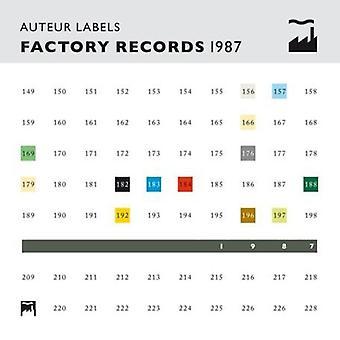 Auteur Labels Factory Records 1987 - Auteur Labels Factory Records 1987 [CD] USA import