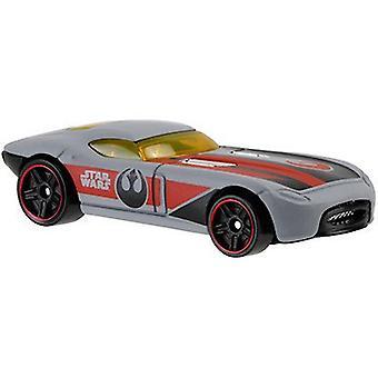 Hot Wheels Star Wars helstøpt kjøretøy - rask Felion