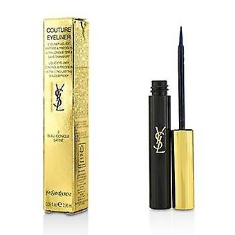 Yves Saint Laurent Couture Eyeliner liquido - n. 2 Bleu Iconique Satine - 2.95ml/0.09oz