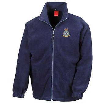 Northolt RAF Station Embroidered Logo - Official Royal Air Force Full Zip Fleece