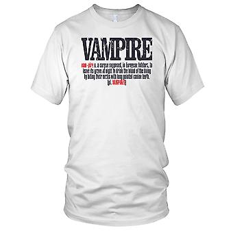 Vampyr definisjon Horror Kids T skjorte
