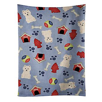 キャロラインズ宝物 BB2655KTWL 犬家コレクション シドニー西部出身者・ キッチン タオル