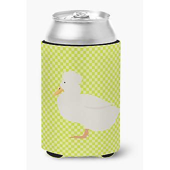 Carolines Treasures  BB7683CC Crested Duck Green Can or Bottle Hugger