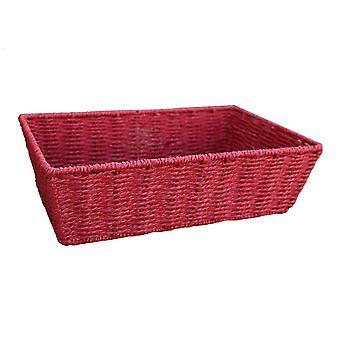 Extra stor röd pappersfacket rep