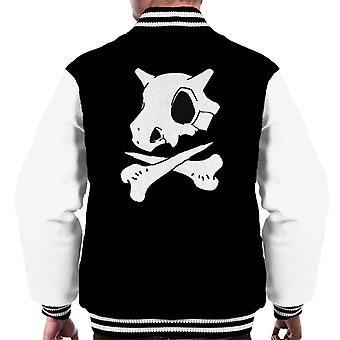 Pokemon Cubone Skull And Crossbones Men's Varsity Jacket
