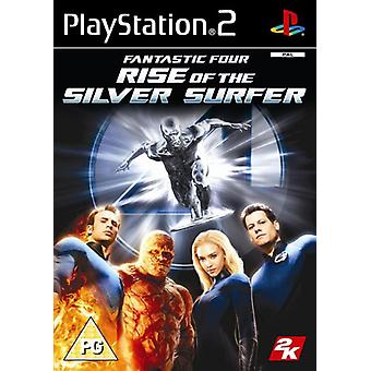 Fantastic Four Rise of The Silver Surfer (PS2) - Als nieuw