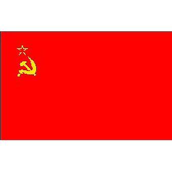 Sovjet-Unie vlag 5 ft x 3 ft (100% Polyester) met oogjes voor verkeerd-om