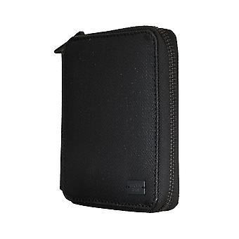 Replay handväska coin purse wallet denim läder svart 5341