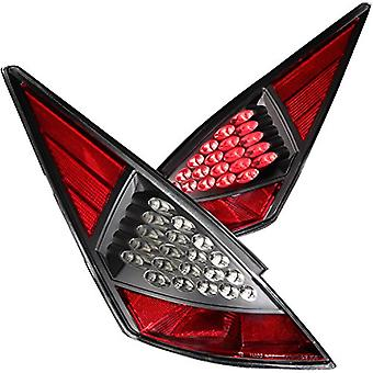 Anzo USA 321099 Nissan 350Z Schwarz LED Tail Light Assembly - (paarweise)