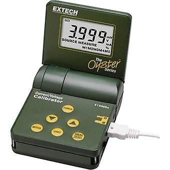 Extech 412355A Calibrator Voltage, Amperage 1 x 9 V PP3 battery (included)