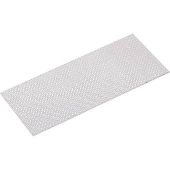 Aluminium Checker plate (L x W) 300 mm x 170 mm 1 mm 1 pc(s)