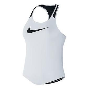 Nike flow tank girls white 728062 100