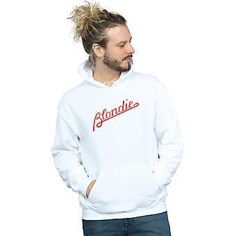 Blondie Men's Lines Logo Hoodie