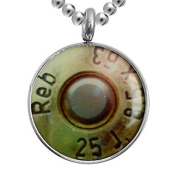Stainless Steel Pendant With Chain, Jewellery, Bullet