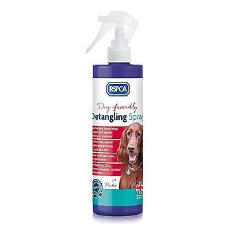 RSPCA ontklitten Spray 250ml - verwijdert knopen en klitten in zware gecoate honden