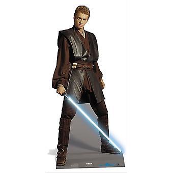 Anakin Skywalker aus Star Wars Lifesize Pappausschnitt / Standee / Standup