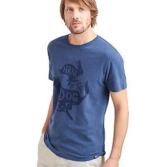 Joules Mens afbeelding zachte katoen bemanning hals Casual T Shirt