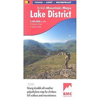 Lake District BMC (British Mountain Map) [Folded Map]