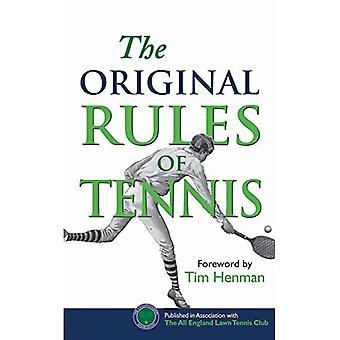 De ursprungliga reglerna för Tennis