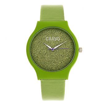 Crayo glitter unisex Watch-verde
