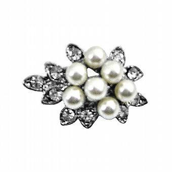 Piccoli Bouquet perla Dainty conveniente bella economici spilla Pin regalo
