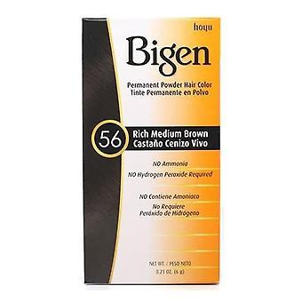 Bigen Powder Hair Color #56 Rich Medium Brown