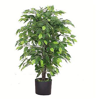 90cm Artificial Ficus Tree / Plant - Large Bushy Shape