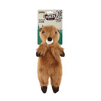 Interpet Limited Petlove Furzz Plus Beaver Dog Toy