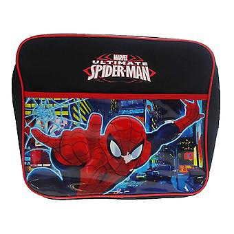 Children's Marvel Spider-Man Neon Courier Bag