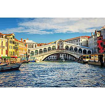 Wallpaper Mural Grand Canal e ponte Rialto