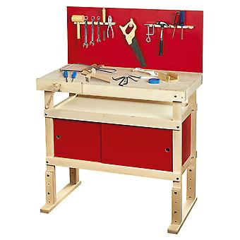 Jonge timmerlieden Toy Work Bench