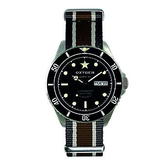 Oxygen Clock Unisex ref. EX-DV-CIG-42-NN-BLIVBR