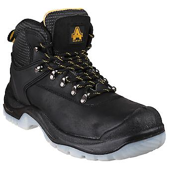 Amblers Safety Mens FS199 Antistatic Pizzo Up Hiker Safety Boot Black