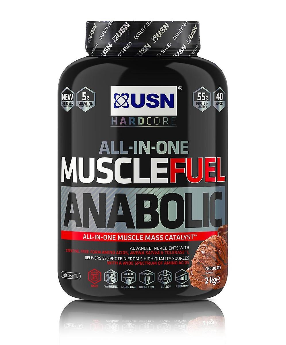 USN hardcore tudo-em-um músculo combustível anabólico massa Gainer Formula