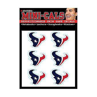 Wincraft 6 Ers Face Sticker 3cm - NFL Houston Texans
