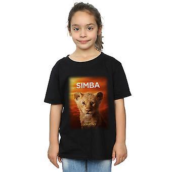 ديزني الفتات الأسد الملك فيلم الطفل سيمبا الملصق تي شيرت