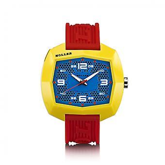 Holler Pimped De Lite Rot / Gelb / Blau Uhr HLW2452-2