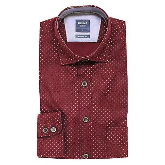 OLYMP Olymp Red Shirt 4060 39