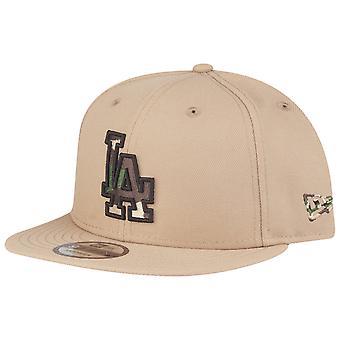 New Era 9Fifty Snapback Cap - Los Angeles Dodgers camel camo