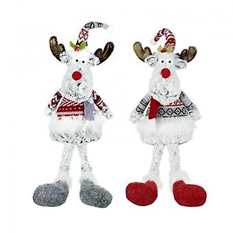 Heaven Sends Set of Sitting Reindeer Decs | Gifts From Handpicked